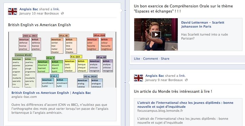 u00ab anglais bac  u00bb sur facebook  u2013 anglais bac